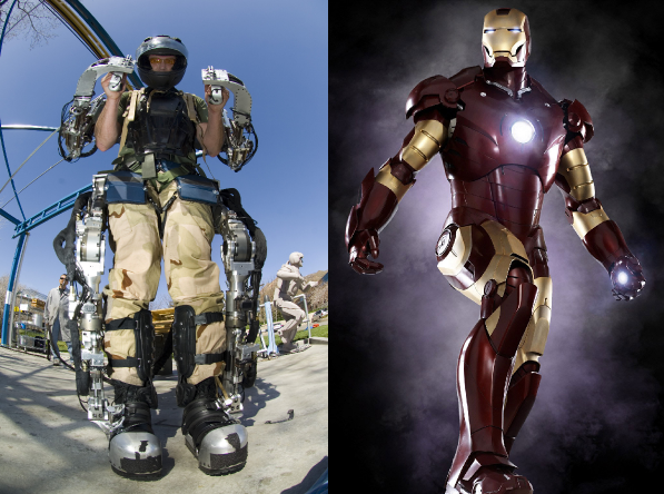 Exoskeleton e Iron Man