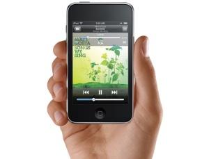 Frente iPod Touch, nova geração.