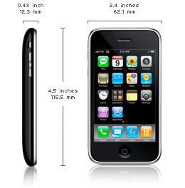 Lado e Frente do iPhone.