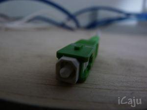 Conector do cabo ótico